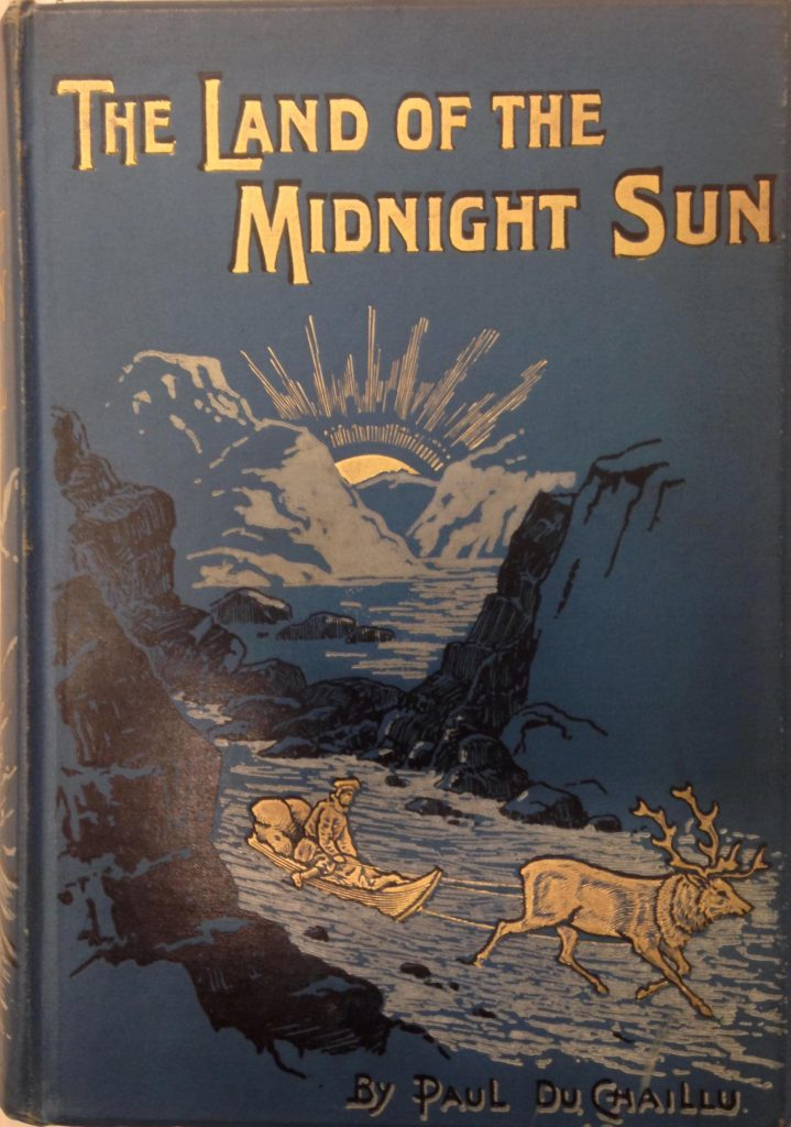 Front cover of the Land of the Midnight Sun