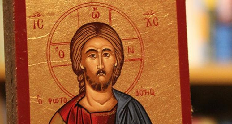 An icon of Christ the Teacher