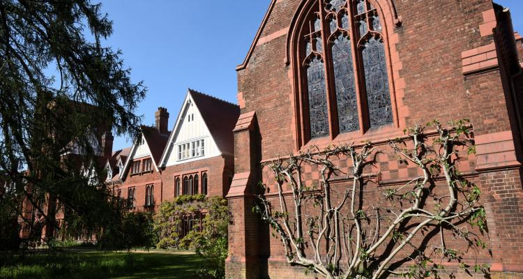Outside view of Chapel at Girton College