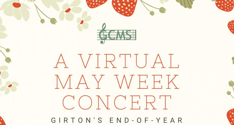 May Week Concert logo