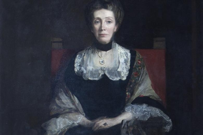 Portrait of Elizabeth Welsh by Sir John Lavery 1904 (Archive reference: GCPH 11-33-50)