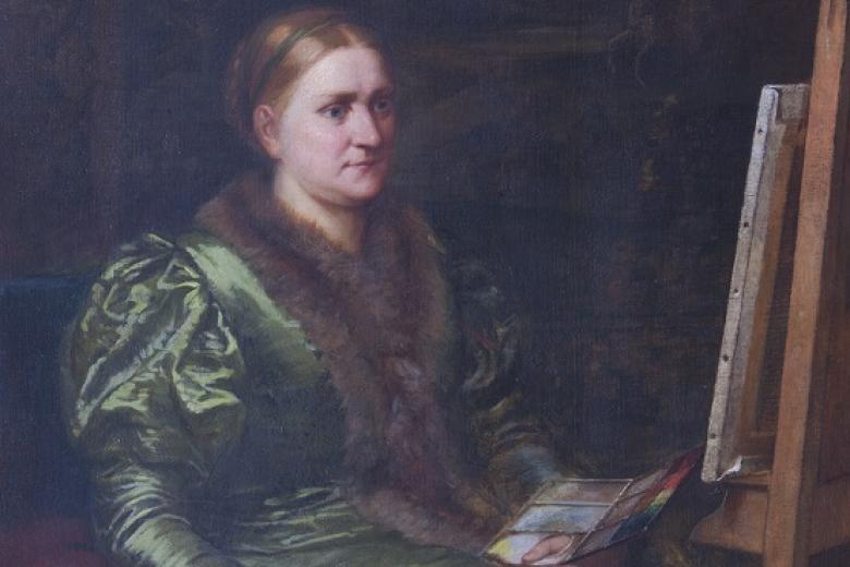 Portrait of Barbara Bodichon by Emily Osborn, not dated (archive reference: GCPH 11/33/31)