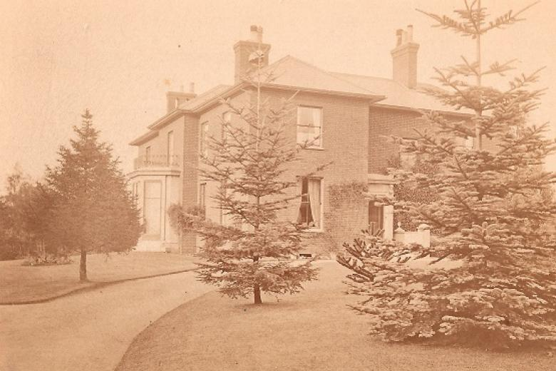 The College for Women, Benslow House, Hitchin, circa 1869 (archive reference: GCPH 13/1/1)