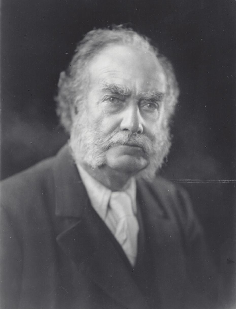 Photograph of Alfred Yarrow, by an unknown photographer, circa 1915 (archive reference: GCPH 4/15/1).