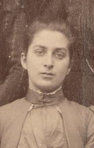 Caroline Skeel, taken from the first year photograph by an unknown photographer, 1891 (archive reference: GCPH 11/4a/36/29)