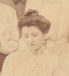 Ellen Delf, taken from the first year photograph by an unknown photographer, 1902 (archive reference: GCPH 11/4a/36/42)