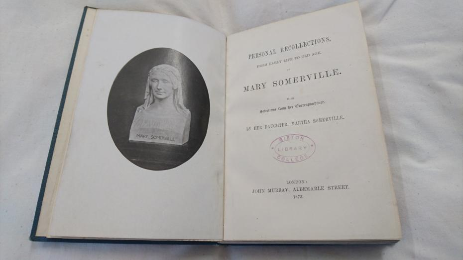 Personal recollections of Mary Somerville. London: John Murray, 1873
